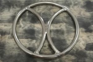 Divided shibari ring